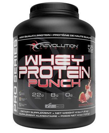 Revolution Whey Protein Punch Watermelon 4lbs