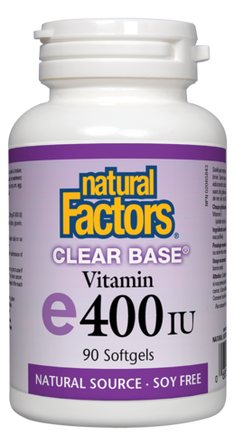 Natural Factors Vitamin E400 90SG