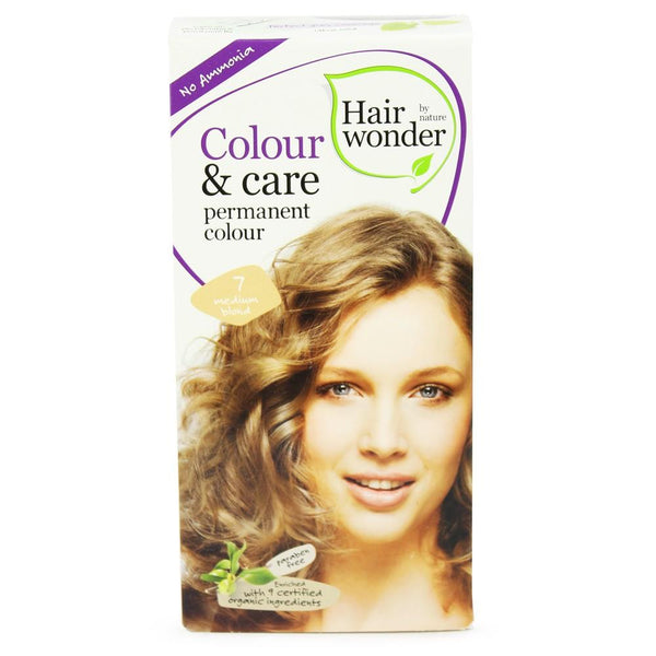 Hair Wonder Colour & Care Medium Blonde Dye