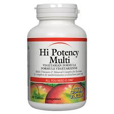 Natural Factors Hi Potency Multi 90Tab