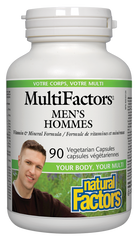 Natural Factors MultiFactors Mens 90Cap