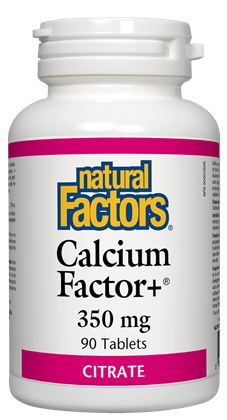 Natural Factors Calcium Factor+ 90Tab