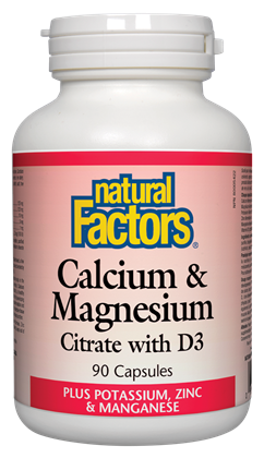 Natural Factors Cal-Mag-D 90Cap