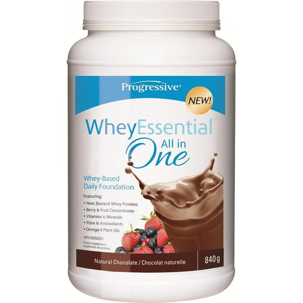 Progressive Whey Essentials All-in-One Shake Natural Chocolate 840g