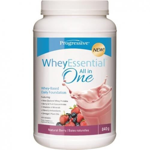 Progressive Whey Essentials All-in-One Shake Natural Berry 840g