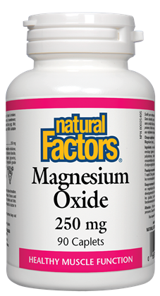 Natural Factors Magnesium Oxide 90Cap