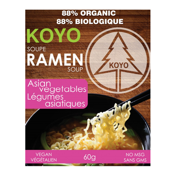 Koyo Ramen Soup - Asian Vegetables