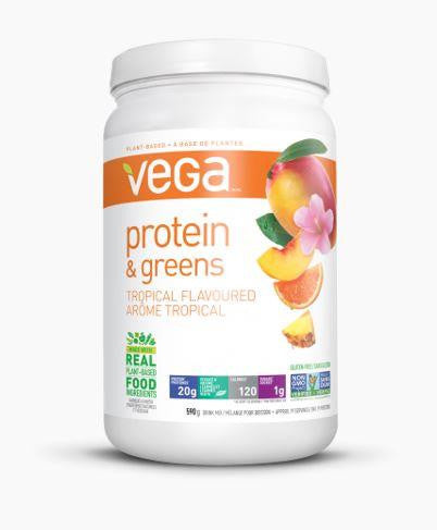 VEGA Protein & Greens Tropical 586g