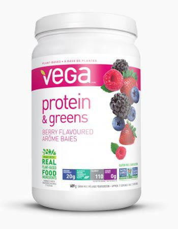 VEGA Protein & Greens Berry 609g