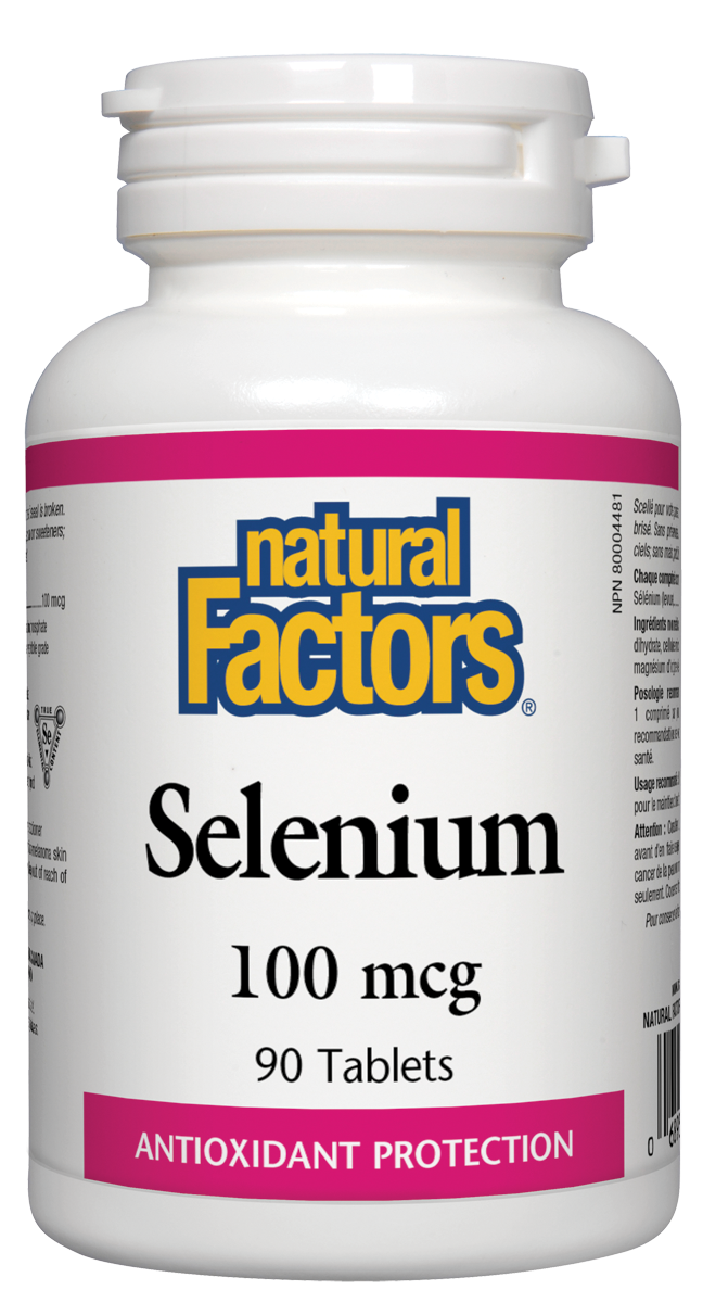 NATURAL FACTORS SELENIUM 90TABS