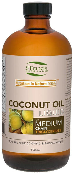 St. Francis Coconut Oil Liquid 500ml