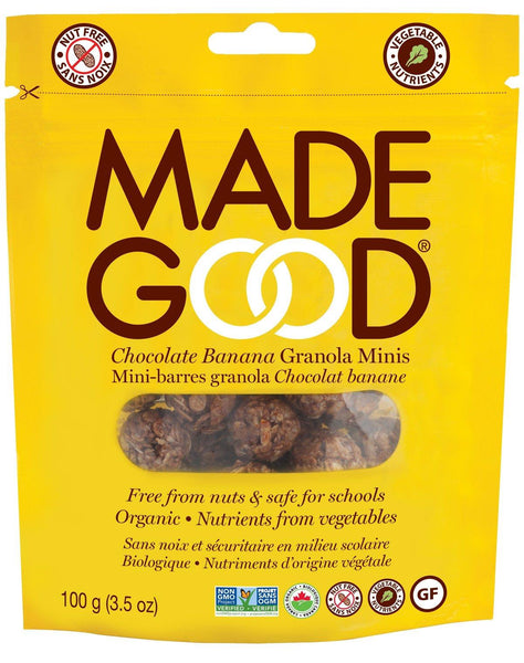 Made Good Granola Mini Pouch Chocolate banana 100G