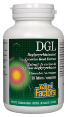 Natural Factors DGL Extract 400Mg 90Tab