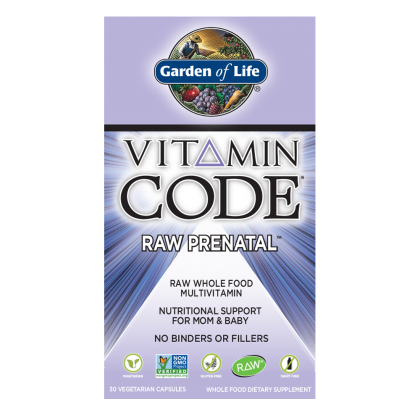 Garden of Life Vitamin Code Raw Prenatal Multivitamin 90Vcaps