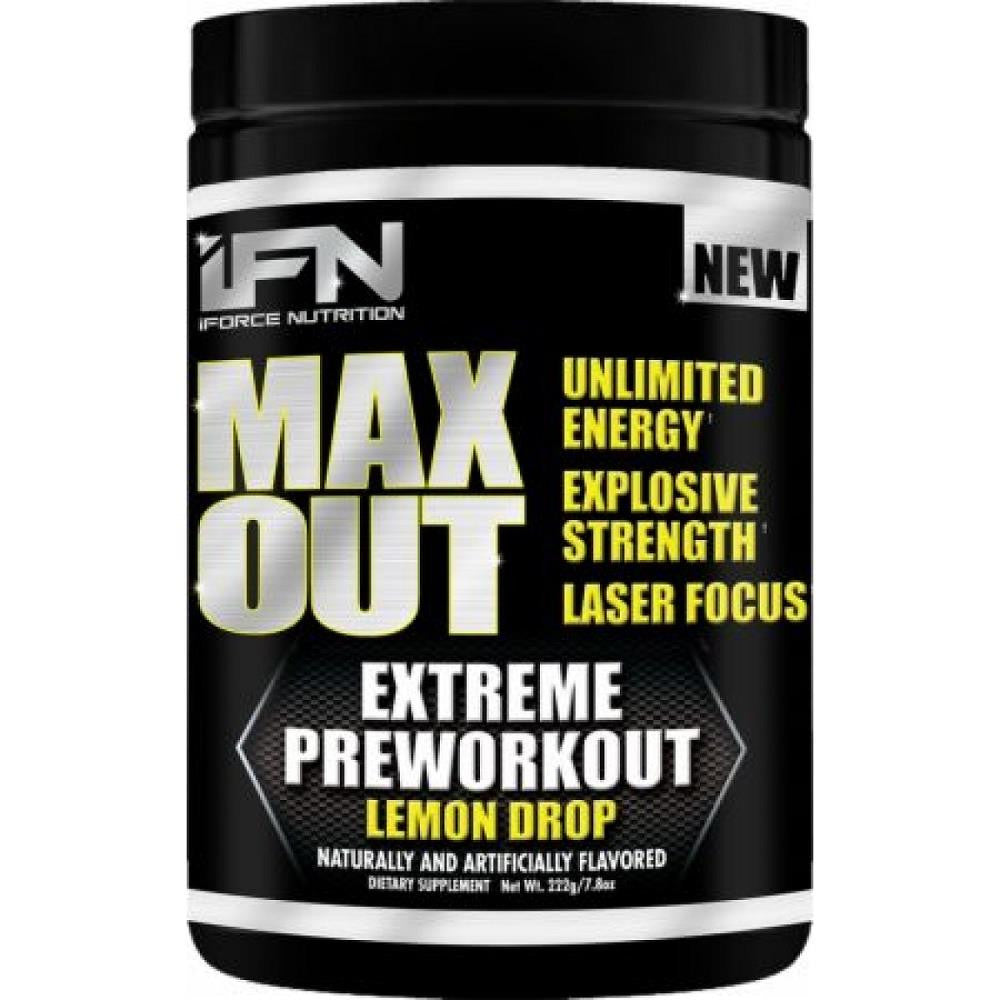 IFN Max Out Lemon Drop 222g