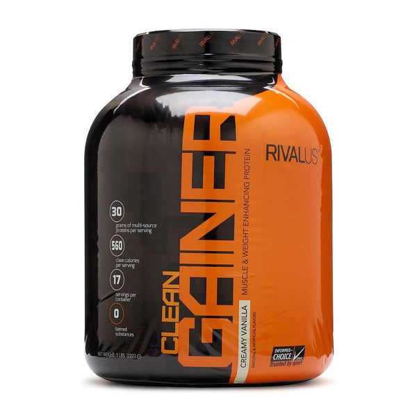Rivalus Clean Gainer Vanilla 5lbs
