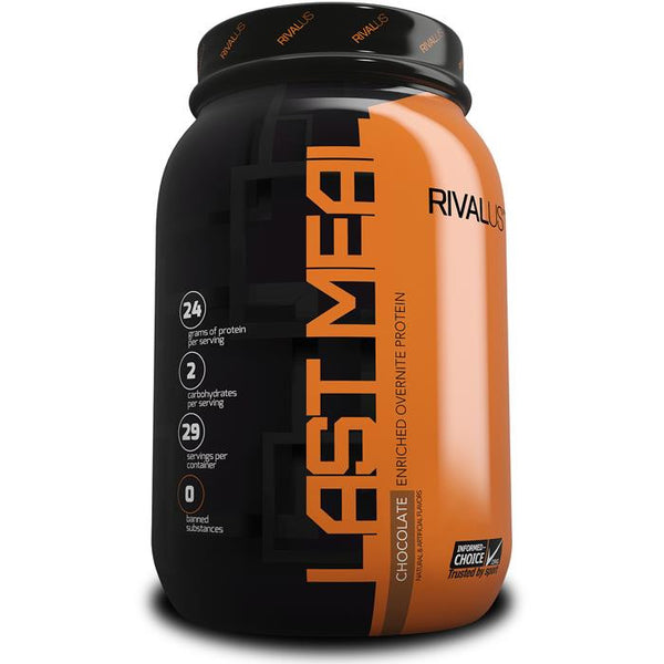 Rivalus Last Meal Casein Chocolate 2lbs