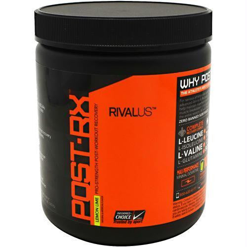 Rivalus Post-Rx Lemon Lime 372g