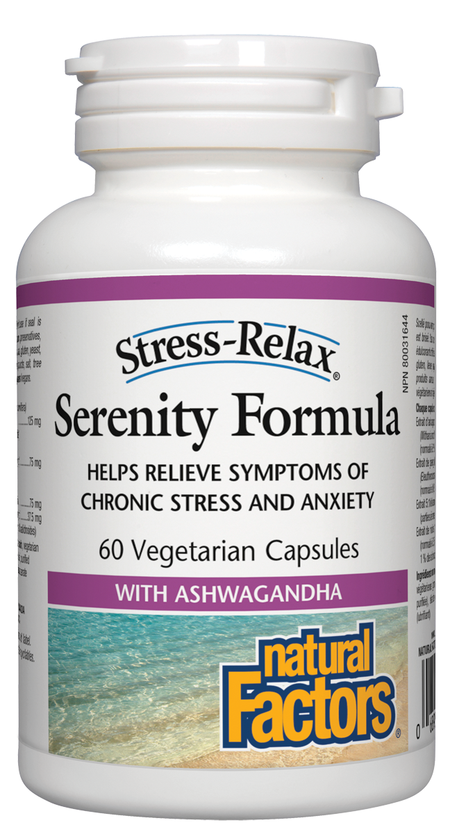 NATURAL FACTORS SERENITY FORMULA 60 CAPS