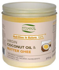 St. Francis Coconut Oil & Butter Ghee 370g