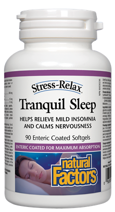 NATURAL FACTORS TRANQUIL SLEEP 90SG