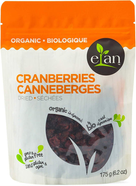 Elan Dried Cranberries 175G