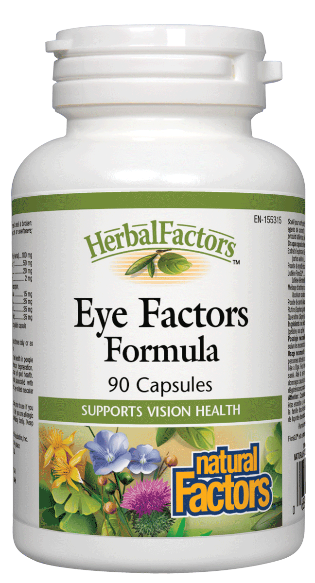 Natural Factors Eye Factors 90Cap
