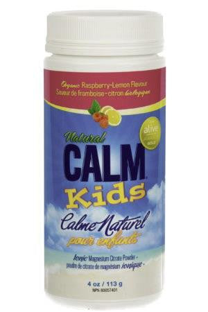 Natural Calm Kids Raspberry-Lemon 113g
