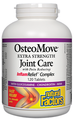 Natural Factors Osteomove 120Tabs