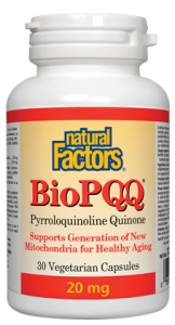Natural Factors BioPQQ 20Mg 30VCaps