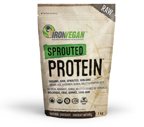Iron Vegan Sprouted Protein Chocolate 1kg