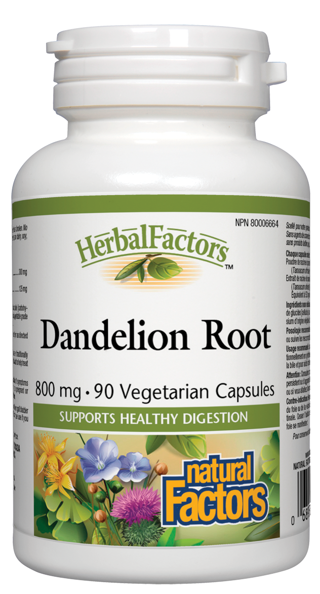 Natural Factors Dandelion Root 90Cap