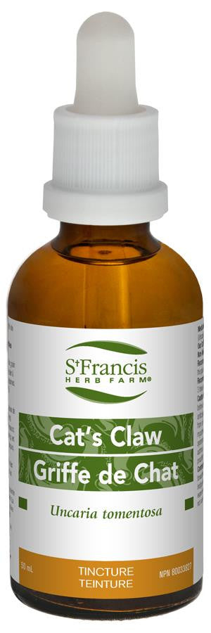St. Francis Cat's Claw 50ml tincture