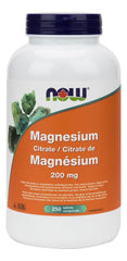 NOW Magnesium Citrate 200mg 250tabs