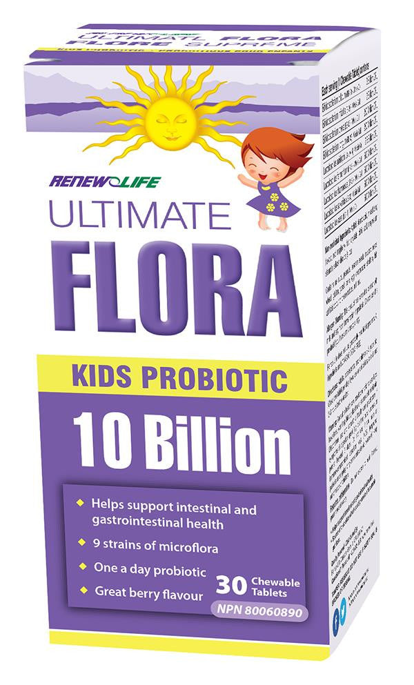 RENEW LIFE ULTIMATE FLORA KIDS 30 CHEWS