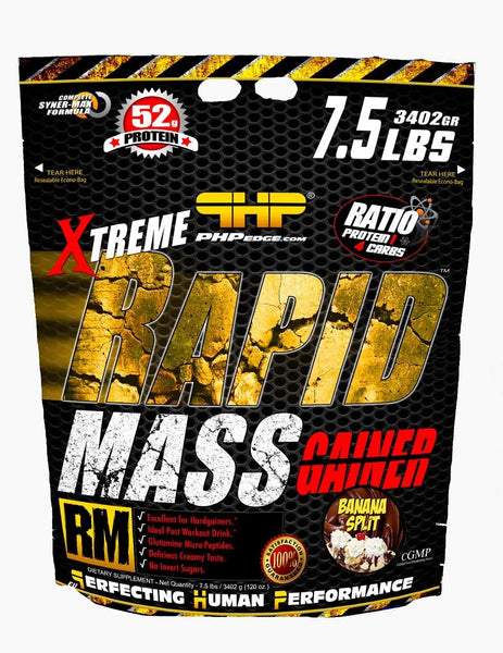 PHP Rapid Mass Banana Split 7.5lbs
