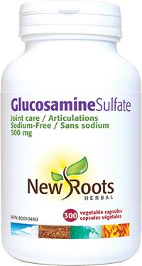 New Roots Glucosamine Sulfate 120Vcaps