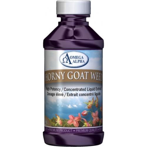 Omega Alpha Horny Goat Weed 120ML