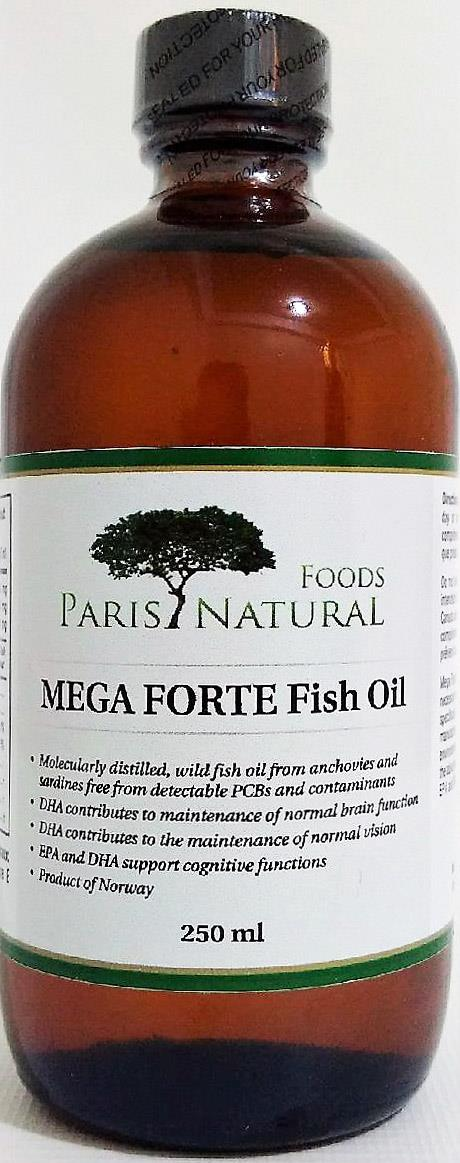 PNF MEGA FORTE Fish Oil 250mL