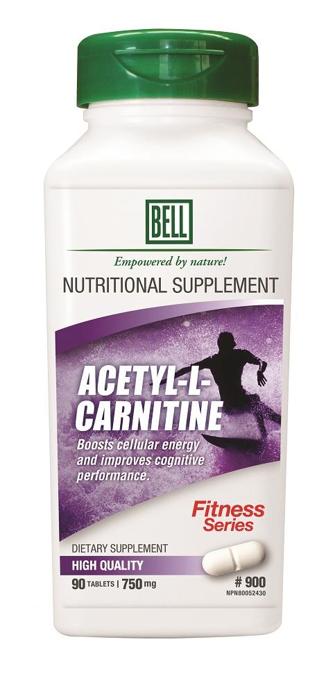 BELL Acertyl-L-Carnitine 750mg 90caps