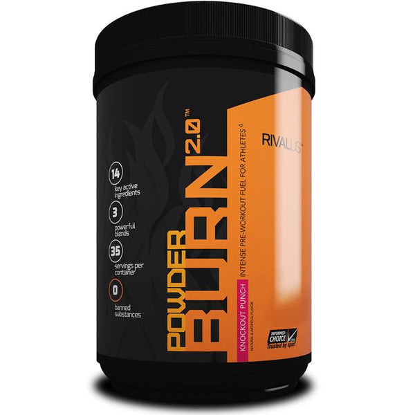 Rivalus Powder Burn 2.0 Knockout Punch 403g