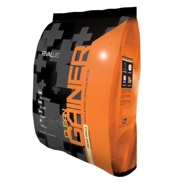 Rivalus Clean Gainer Vanilla 10lbs