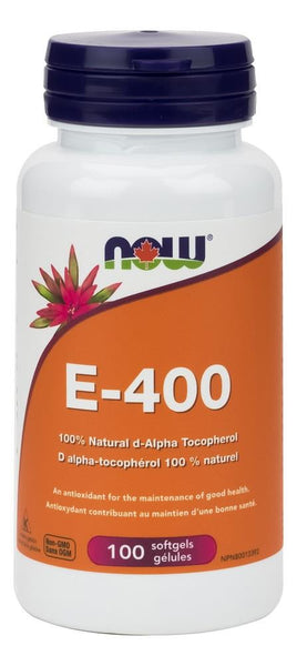 NOW E-400 100Softgels