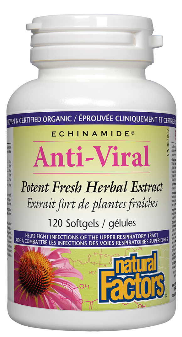 Natural Factors Anti-Viral 120SG
