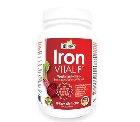 Hubner Iron Vital F 30 Chewables