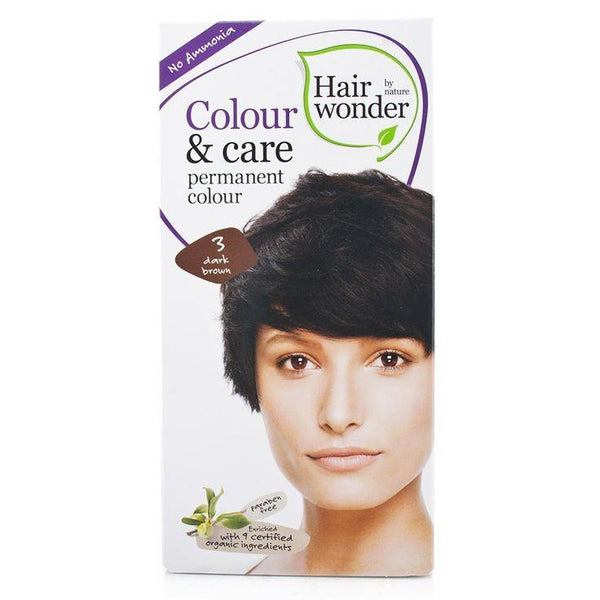 Hair Wonder Colour & Care Dark Brown Dye