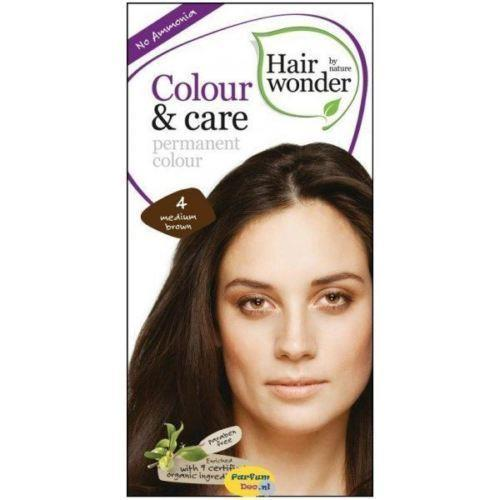 Hair Wonder Colour & Care Medium Brown Dye