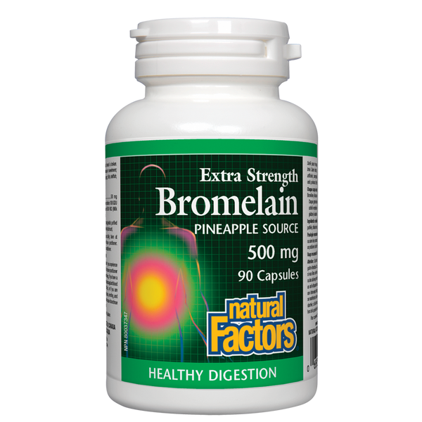 Natural Factors Extra Strength Bromelain 90Cap