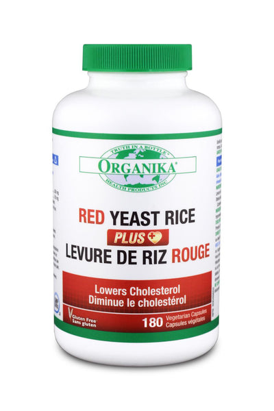 Organika Red Yeast Rice Plus 180Caps