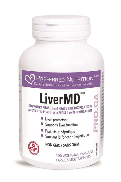 PREFERRED NATURALS Liver MD 120Vcaps*